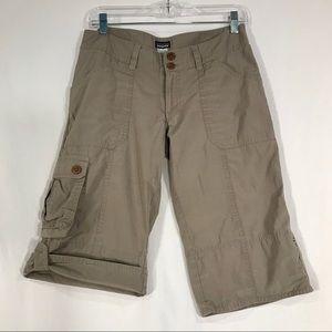 Patagonia Water Girl Women's Cargo Khaki Shorts 6